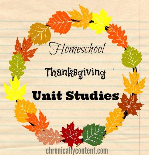 thanksgiving-unit-studies
